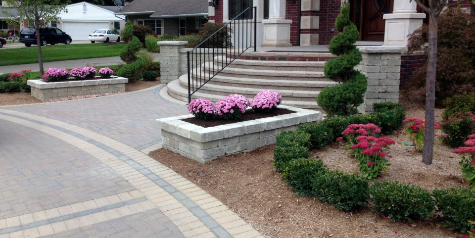 Cut Landscaping Bricks : Brick pavers vs concrete